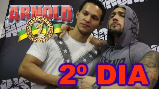 🏋 Plus TV no Arnold Classic South América 2017 🏋 || Segundo Dia – 22/04