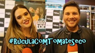 🎬 Rúcula Com Tomate Seco na Plus TV || Entrevista Juliana Paiva e Arthur Vinciprova