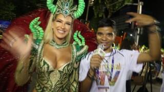🎉 Carnaval Plus TV 2018 || Lorena Improtta Estreia como Musa da Viradouro