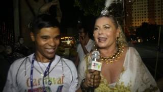 🎉 Carnaval Plus TV 2018 || Vera Fischer – De Volta à Estácio de Sá Depois de Mais de 20 Anos
