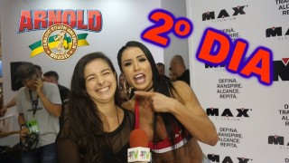 🏋 Plus TV no Arnold Sports Festival South America 2018 🏋 || Segundo Dia – 21/04