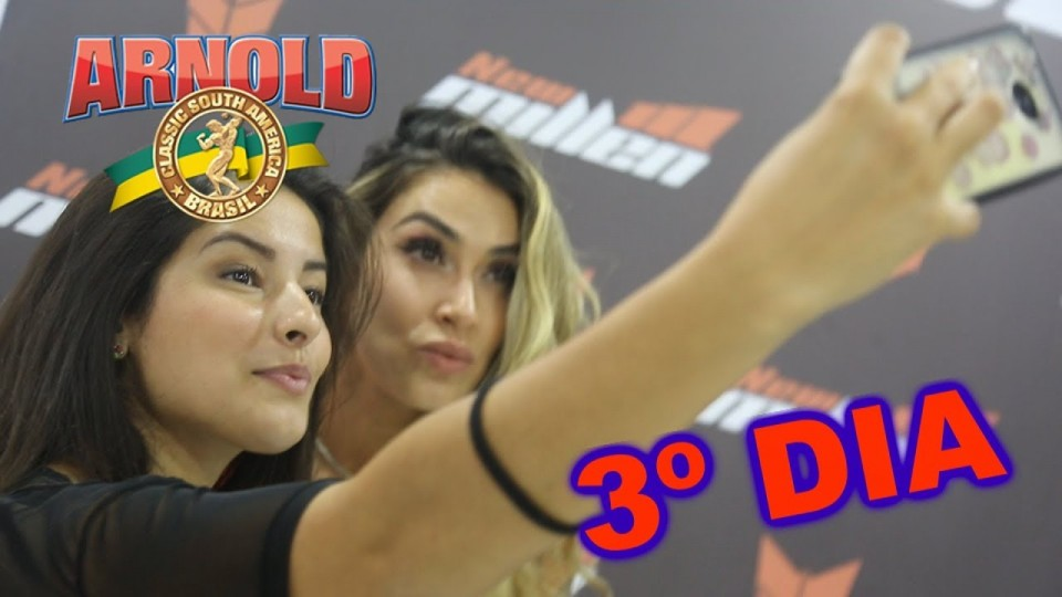 🏋 Plus TV no Arnold Sports Festival South America 2018 🏋 || Terceiro e Último Dia – 22/04