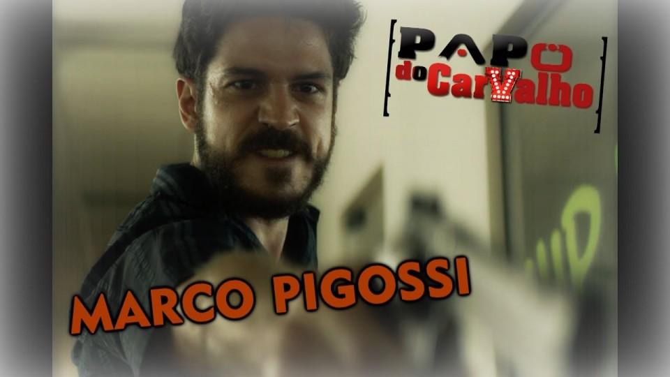 🎬 PAPO DO CARVALHO    O Nome da Morte   Entrevista com Marco Pigossi