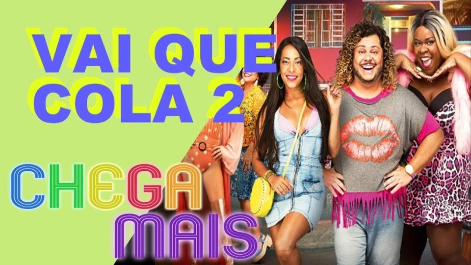 🎧 CHEGA MAIS || Vai Que Cola 2 – O Começo | Entrevista com Elenco + Crítica do Filme